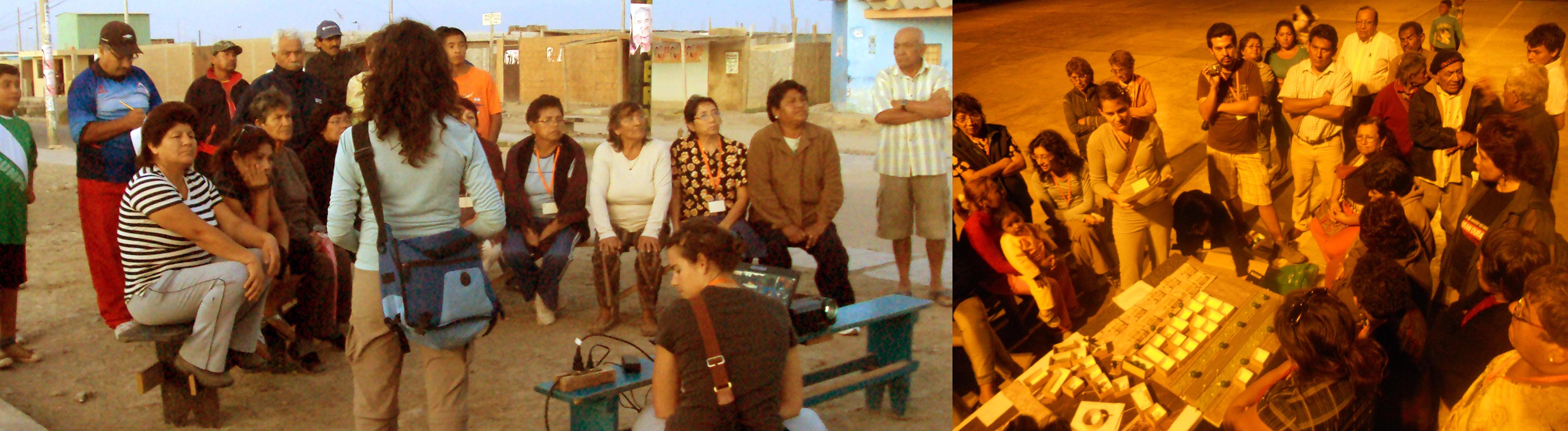 Participatory design workshops as part of Yo Soy Pisco