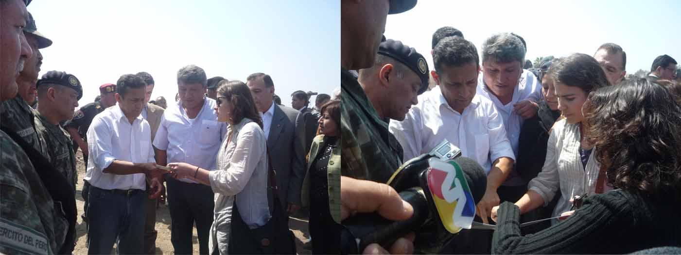 Espacio Expresión presenta Yo Soy Pisco a Presidente Humala