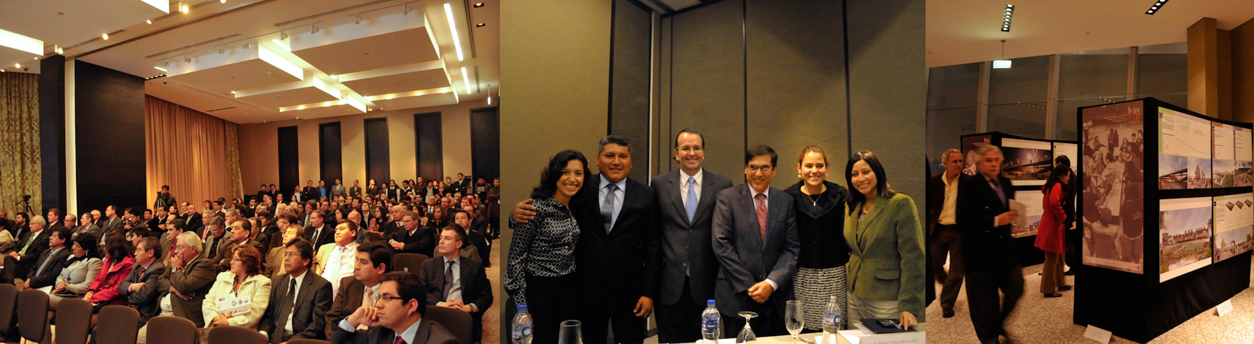 Presentación del Programa Yo Soy Pisco, en Lima