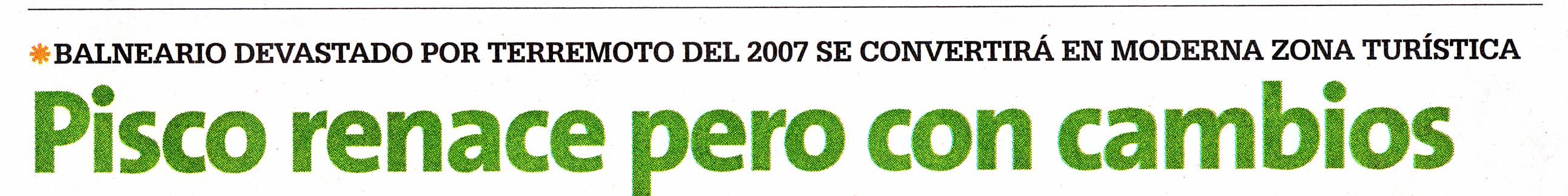 Diario 16 difunde Propuesta Yo Soy Pisco