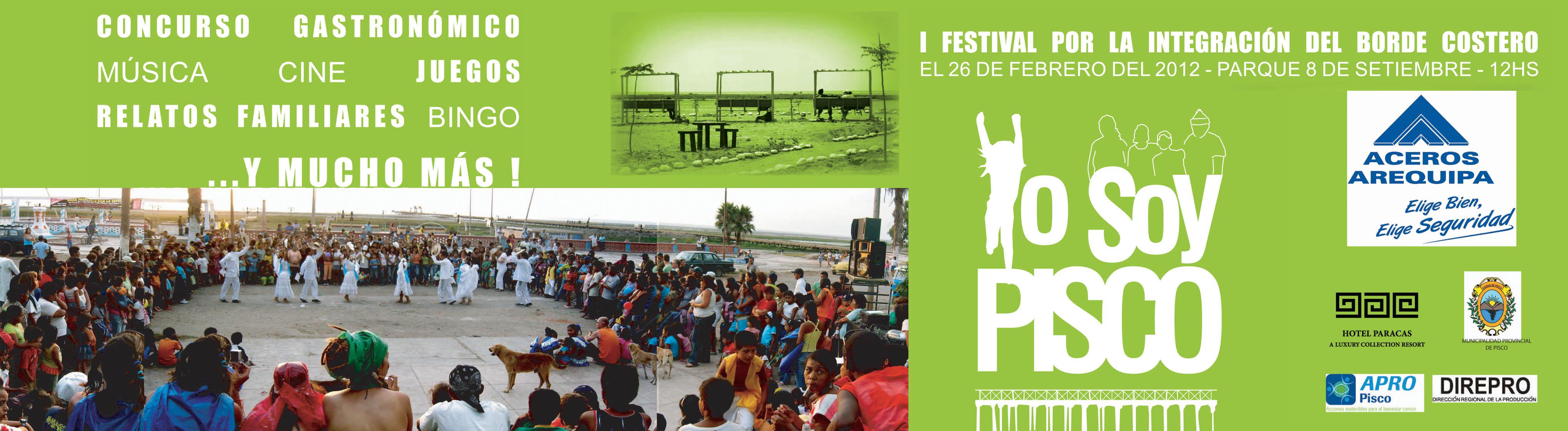Festival por la Integración del Borde Costero YO SOY PISCO