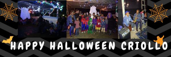 Celebremos Halloween y el día de la Canción Criolla