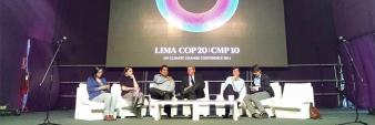 ESPACIO EXPRESIÓN EN LA COP 20